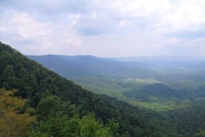 View from Lovers Leap Mountain