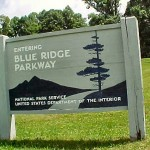 The Blue Ridge Parkway winds through Caroll County for 27 miles.