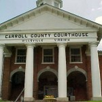 The Carroll County Courthouse is famous as the site of a shootout in 1912 involving Floyd and Sidna Allen, where 5 people were killed. Founded in 1842, Carroll County is named for Charles Carroll, a signer of the Declaration of Independence.