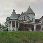 The Sidna Allen House, located in Carroll County on US 52 (2 miles north of US 52 & Parkway) near Fancy Gap, was the home of Mr. Allen, who gained notoriety in the 1912 shootout at the Courthouse.