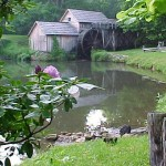 The world famous Mabry Mill, located at Milepost 176.2 was built in 1930 by Ed & Lizzie Mabry.