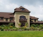 Visit the beautiful Chateau Morrisette Winery on the Blue Ridge Parkway at Milepost 171.5.