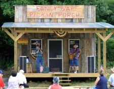 Pickin Porch, Fancy Gap VA, Blue Ridge Parkway